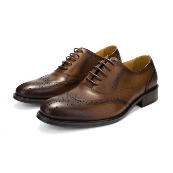 Brock carved shoes for men formal suit business leather shoes upper leather shoes for men wedding shoes European station men shoes upper leather shoes